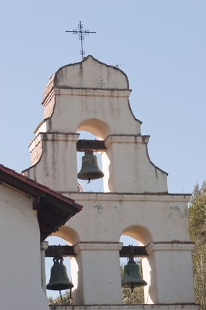 Mission San Juan Bautista was founded on June 24, 1797 in what is now the San Juan Bautista Historic District of San Juan Bautista, California. Barracks for the soldiers, a nunnery, the Jose Castro House, and other buildings were constructed around a larg Banco de Imagens