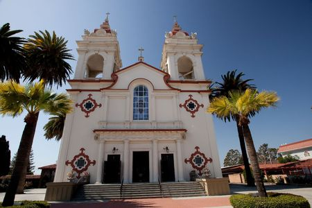 The Five Wounds Portuguese National Church is the heart and soul of the Portuguese Community in Santa Clara Valley. The Five Wounds Parish was dedicated by Father Henrique Ribeiro on November 8, 1914. photo