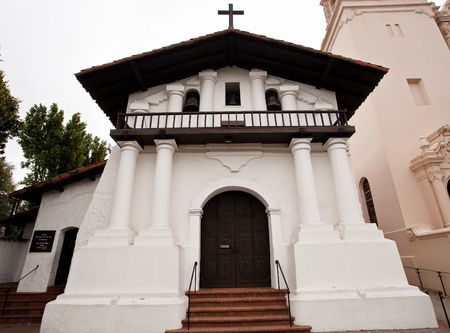 Mission San Francisco de As�s is the oldest surviving structure in San Francisco and the sixth religious settlement established as part of the California chain of missions. Stock Photo - 5254685