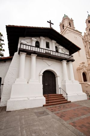 Mission San Francisco de As�s is the oldest surviving structure in San Francisco and the sixth religious settlement established as part of the California chain of missions. photo