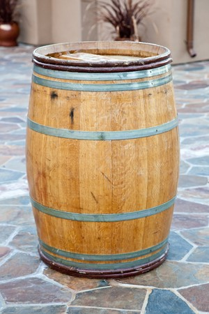 profound: The use of oak in wine plays a significant role in winemaking and can have a profound effect on the resulting wine, affecting the color, flavor, tannin profile and texture of the wine. Stock Photo