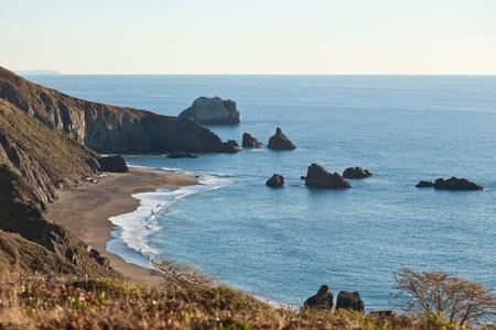 Geit rots strand is een zand strand in Noordwest Sonoma County, California, Verenigde Staten. Deze landform is een subeenheid van Sonoma Coast staat Beach, eigendom van en beheerd door de staat Californië.