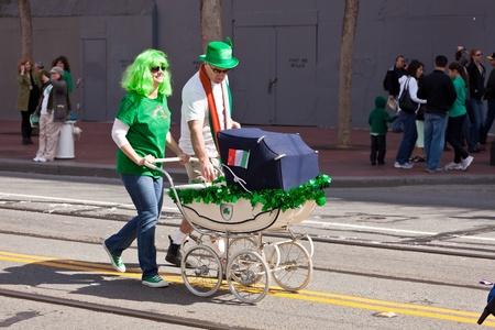 SAN FRANCISCO, CA, USA - MARCH 12:  The 160th Annual St. Patricks Day Parade, March 12, 2011 in San Francisco, CA, USA