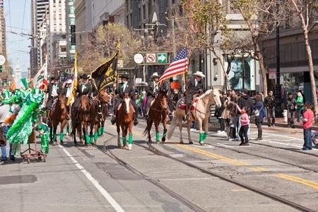 SAN FRANCISCO, CA, USA - MARCH 12:  The 160th Annual St. Patricks Day Parade, March 12, 2011 in San Francisco, CA, USA
