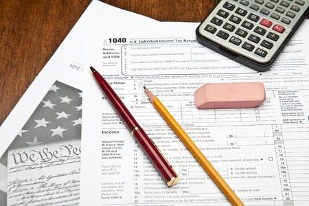 Das Formular 1040, US einzelne Income Tax Return, ist das Ausgangspunkt für persönliche (einzelne) Federal Einkommensteuererklärungen