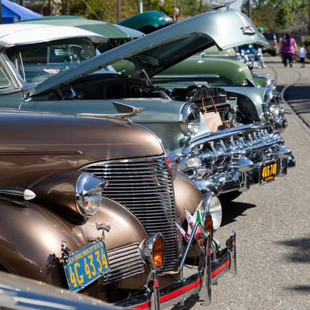 SAN JOSE CA USA APRIL Bombs United Car Show Picnic April - San jose car show