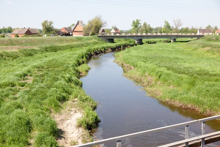 Farmland landscape in Lower Silesia, Poland Stock Photo - 9735785