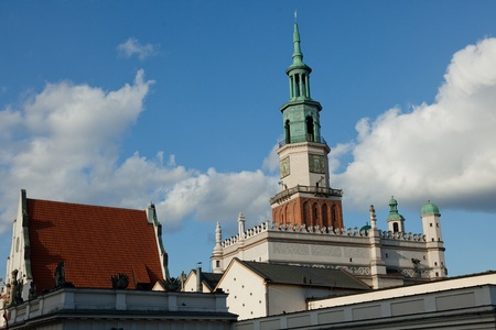 The central square of the city established in 1253 is the third biggest in Poland