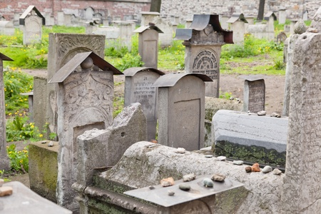 remuh: Old Jewish cemetery is located beside the Remuh Synagogue at 40 Szeroka Street in the historic Kazimierz district of Kraków.