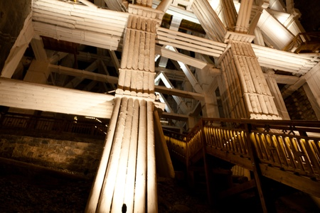 Wieliczka Salt Mine continuously produced table salt from the 13th century until 2007 as one of the world's oldest operating salt mines. Sajtókép