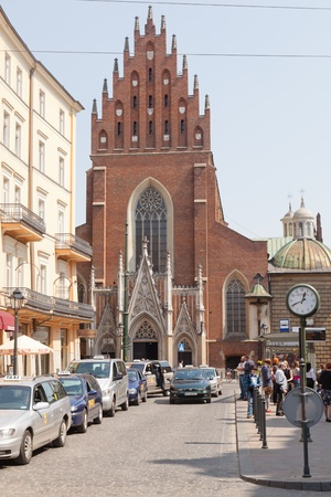 Old Town is the historic central district of  Poland