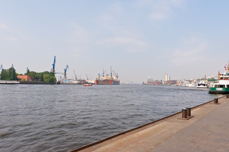 Port of Hamburg  is a port in Hamburg, Germany, on the river Elbe.