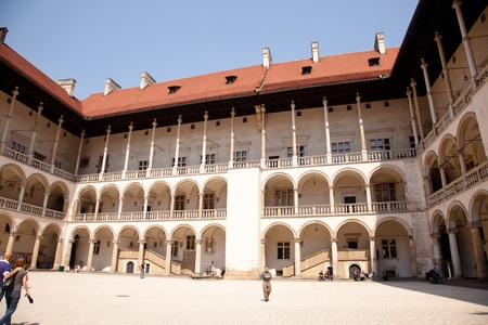 The Gothic Wawel Castle in Cracow in Poland was built at the behest of Casimir III the Great Editöryel