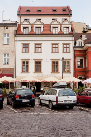Kazimierz is a historical district of Kraków Stock Photo - 13161083