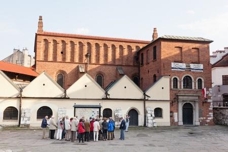 Kazimierz is a historical district of Kraków Stock Photo - 13266661