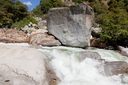 Cascades on Kaweah River in Sequoia National Park, California. Stock Photo - 13298894