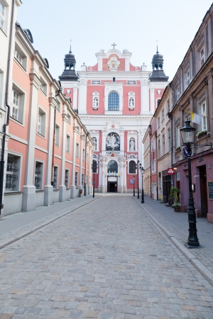 sacral: Collegiate Church, one of the most impressive Baroque  sacral edifices in Poland, was built in the years 1651-1701 Editorial