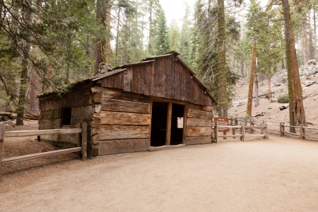 This Cabin was built in 1872 by Israel Gamlin. The cabin is now a part of Kings Canyon National Park.