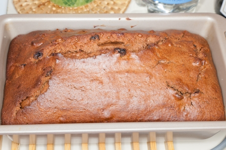 Making traditional polish gingerbread cake from scratch for Christmas. Stock Photo