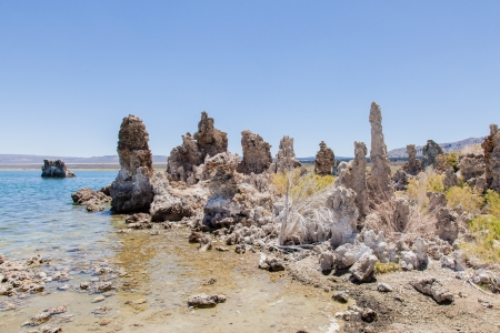 Mono Lake Tufa State Natural Reserve is located near Yosemite National Park within Mono County, in eastern California. photo