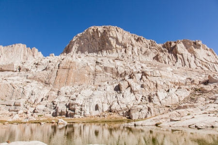 Mount Whitney Trail is a trail that climbs Mount Whitney. It starts at Whitney Portal, 13 miles (21 km) west of the town of Lone Pine, California.