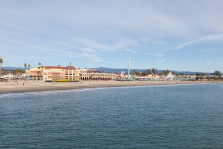 Santa Cruz Beach Boardwalk is an oceanfront amusement park in Santa Cruz, California. photo