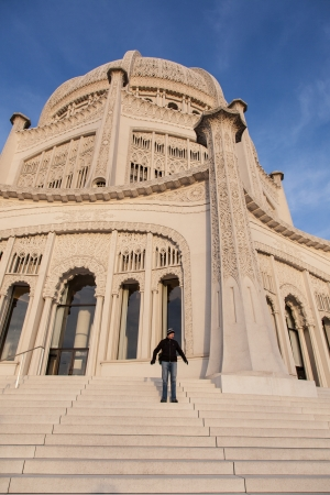 house of worship: Bahshy, Temple in Wilmette, Illinois, is the oldest surviving Bahshy, House of Worship in the world.