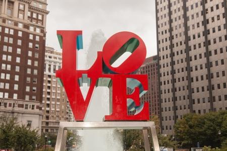 jfk: Love Park is a plaza located in Center City, Philadelphia, Pennsylvania.