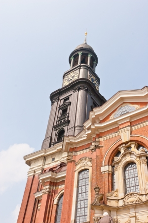 St. Michaelis is the most famous church in the city of Hamburg.