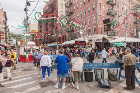 feast: Annual Feast of San Gennaro takes place in Little Italy Editorial