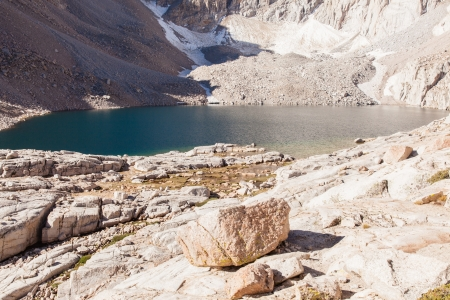 Mount Whitney Trail is a trail that climbs Mount Whitney