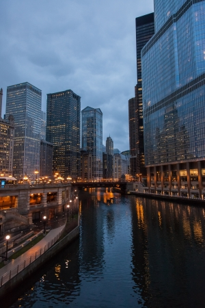 Chicago Loop is one of 77 officially designated community areas located in the City of Chicago, Illinois, United States. It is the historic commercial center of Downtown Chicago. Stock Photo - 18699067