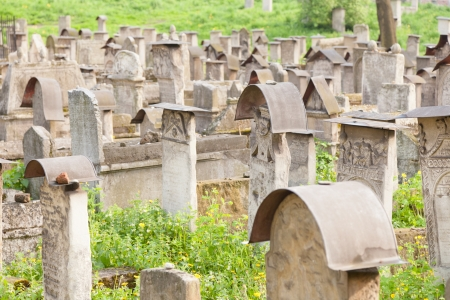 szeroka: Old Jewish cemetery is located beside the Remuh Synagogue at 40 Szeroka Street in the historic Kazimierz district of Kraków.