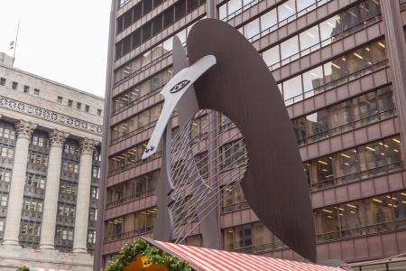 pablo: The Chicago Picasso (often just The Picasso) is an untitled monumental sculpture by Pablo Picasso in Chicago, Illinois.
