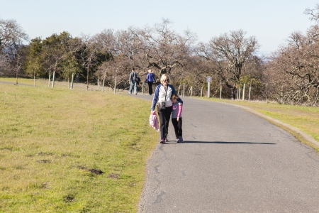 The Stanford Dish loop is a popular route in Palo Alto suitable for running, walking, and hiking. photo
