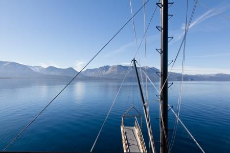 paddle wheel: Sightseeing cruise around Emerald Bay on Lake Tahoe on Tahoe Queen