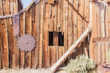 Bodie is a ghost town in the Bodie Hills east of the Sierra Nevada mountain range in Mono County, California, United States photo