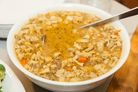 Flaki, penssoep is een gemeenschappelijke schotel in de Poolse keuken.