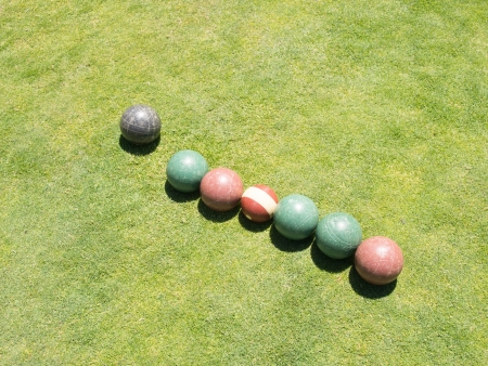 boules: Bocce is a ball sport belonging to the boules sport family.