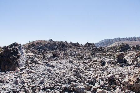 Panum Crater is a volcanic cone that is part of the Mono-Inyo Craters, a chain of recent volcanic cones south of Mono Lake and east of the Sierra Nevada, in California, USA. Stock Photo - 21408749