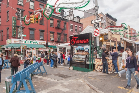 Annual Feast of San Gennaro takes place in Little Italy Éditoriale