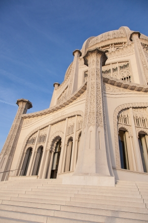 monotheism: Baháí Temple in Wilmette, Illinois, is the oldest surviving Baháí House of Worship in the world.