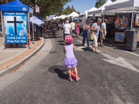 42nd Annual Mountain View Art & Wine Festival is a vibrant multicultural celebration featuring professional artists and craftmakers showing exceptional handcrafted wares, stellar live music on stage and street throughout downtown.