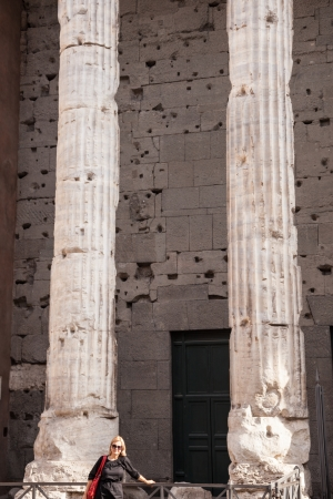 adoptive: Temple of Hadrian is a temple to the deified Hadrian on the Campus Martius in Rome, Italy, built by his adoptive son and successor Antoninus Pius in 145 and now incorporated into a later building in the Piazza di Pietra