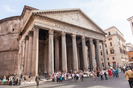 commissioned: Pantheon is a building in Rome, Italy, commissioned by Marcus Agrippa during the reign of Augustus as a temple to all the gods of ancient Rome.