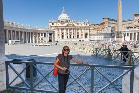 St. Peters Basilica is a Late Renaissance church located within Vatican City. It is the most renowned work of Renaissance architecture and remains one of the largest churches in the world.