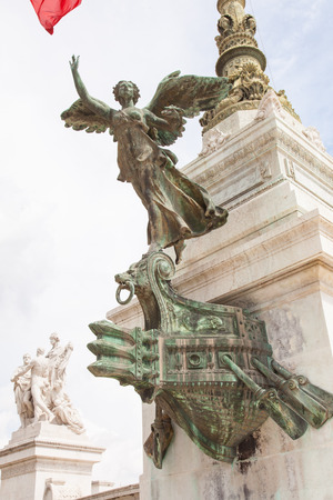 emmanuel: Altare della Patria (Altar of the Fatherland) is a monument built in honour of Victor Emmanuel, the first king of a unified Italy, located in Rome, Italy.