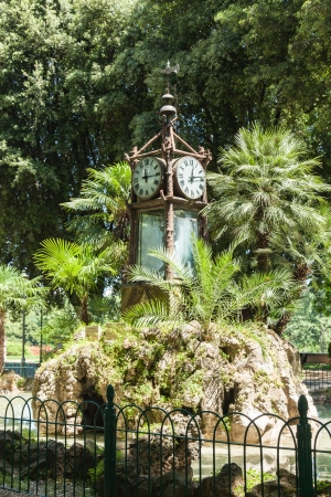 naturalistic: Villa Borghese is a large landscape garden in the naturalistic English manner in Rome, containing a number of buildings, museums (see Galleria Borghese) and attractions.