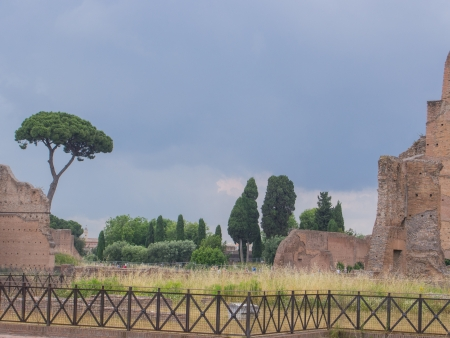 augustus: House of Augustus is the first major site upon entering the Palatine Hill in Rome, Italy. It served as the primary residence of Caesar Augustus during his reign.