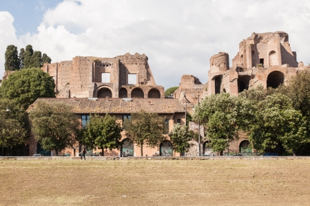 palatine: Circus Maximus is an ancient Roman chariot racing stadium and mass entertainment venue located in Rome, Italy.